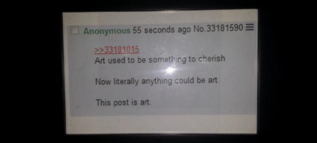 Komentarz na 4chanie sprzedał się za 90 000 dolarów