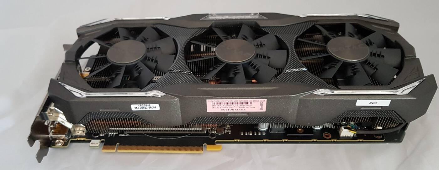 Test karty graficznej ZOTAC GeForce GTX 1070 AMP Extreme