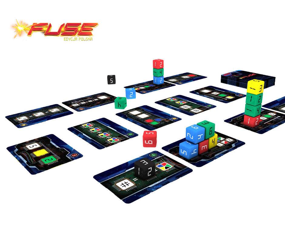 Recenzja gry planszowej Fuse
