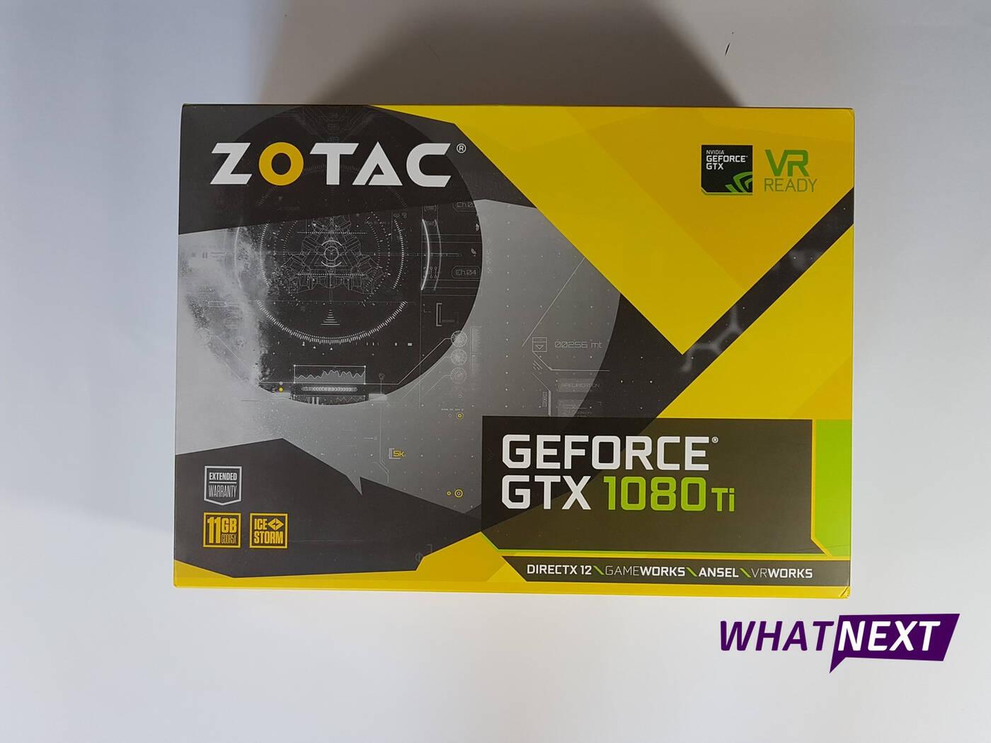 Test karty graficznej ZOTAC GTX 1080 Ti Mini