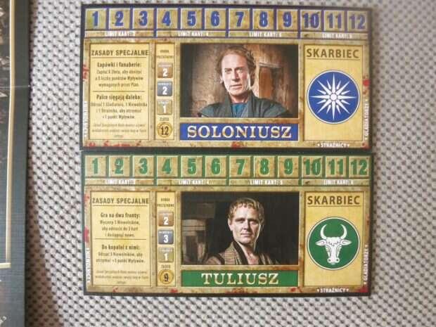 Spartakus karty rodów
