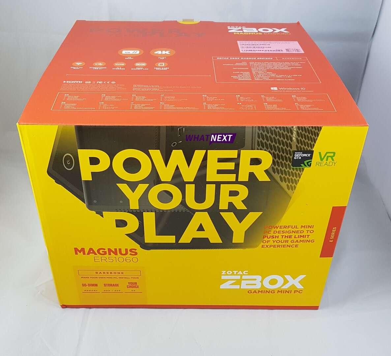 Test Mini PC ZOTAC ZBOX Magnus ER51060