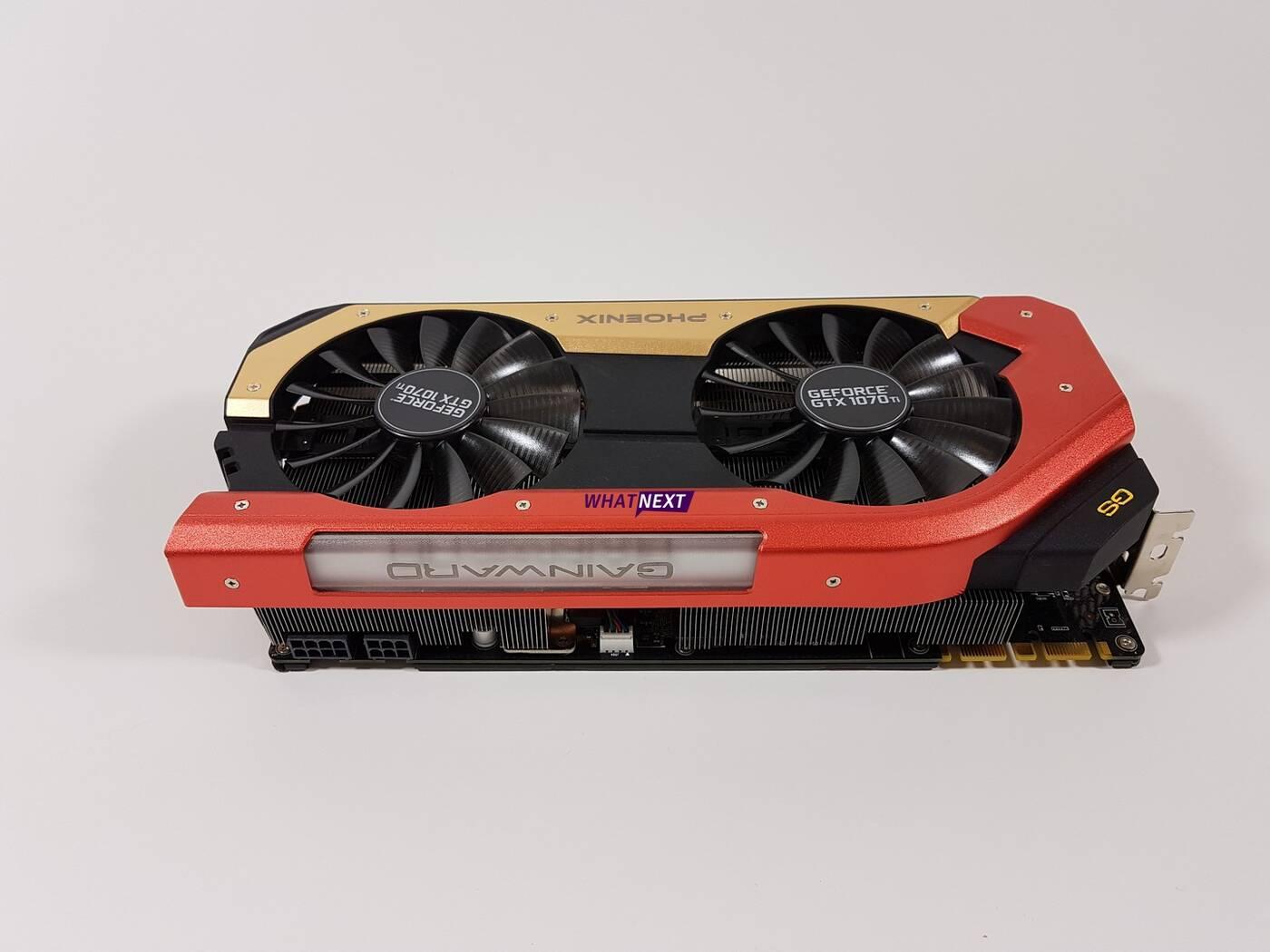Test karty graficznej Gainward GeForce GTX 1070 Ti Phoenix GS