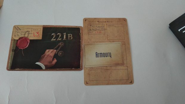 Watson&Holmes karty