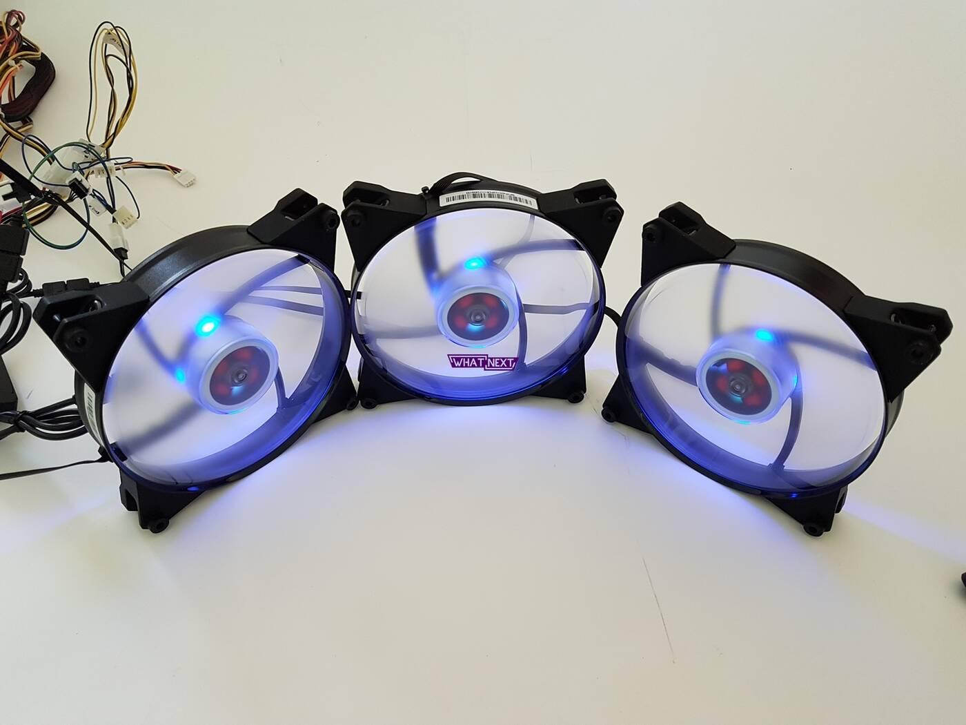Test wentylatorów Cooler Master MasterFan Pro