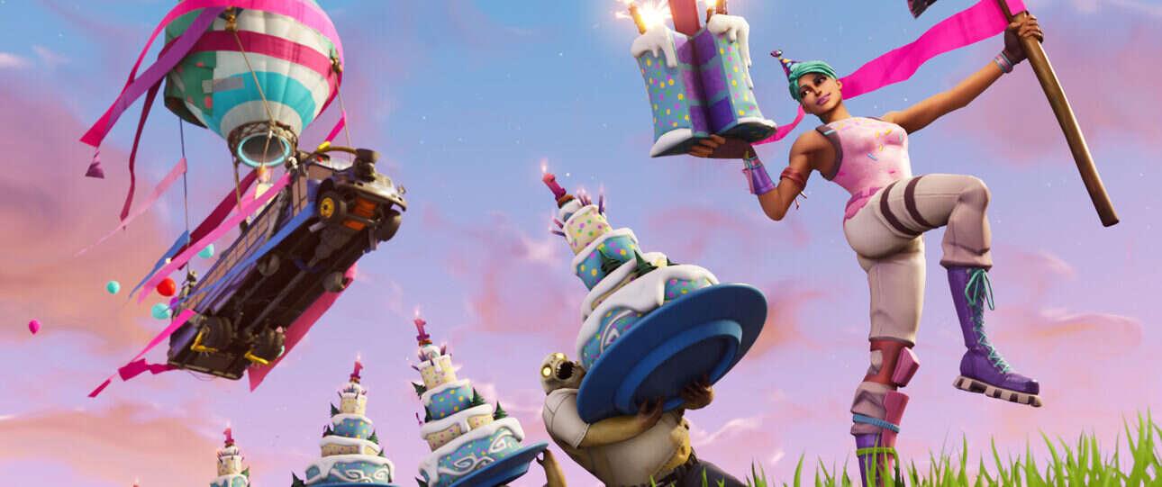 Świętuj urodziny Fortnite i zgarniaj nagrody