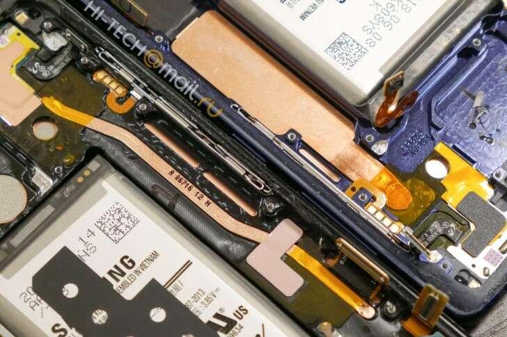 Jak wygląda Galaxy Note 9 od środka?