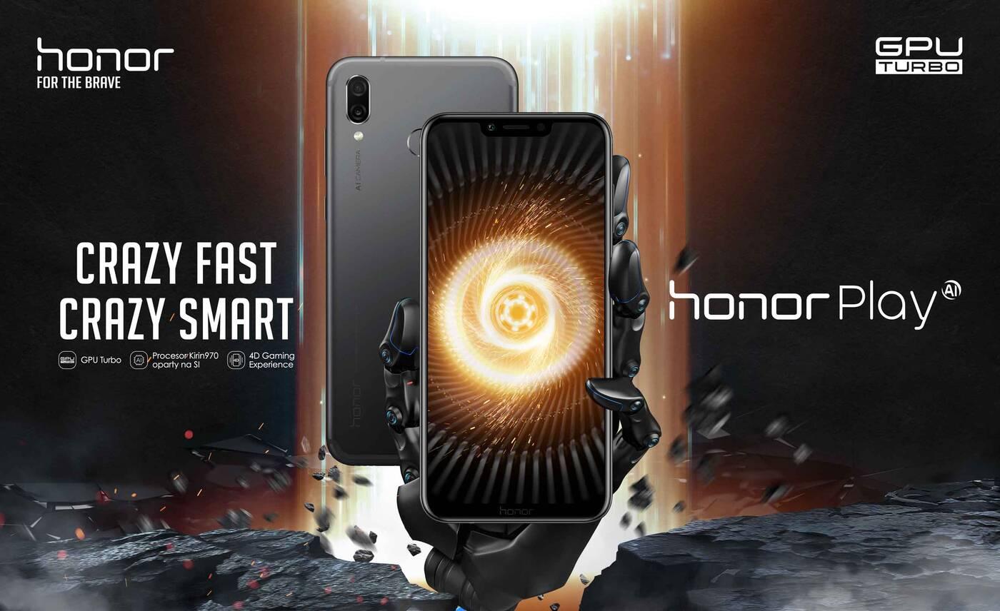 Honor Play jest już dostępny w przedsprzedaży