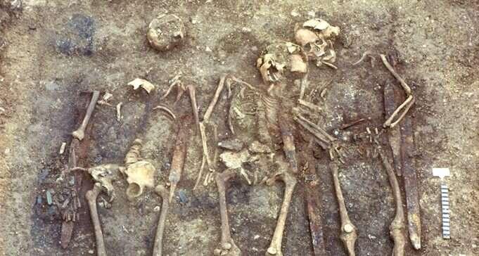 Analiza DNA średniowiecznych szkieletów dostarczyła niespodziewanych informacji