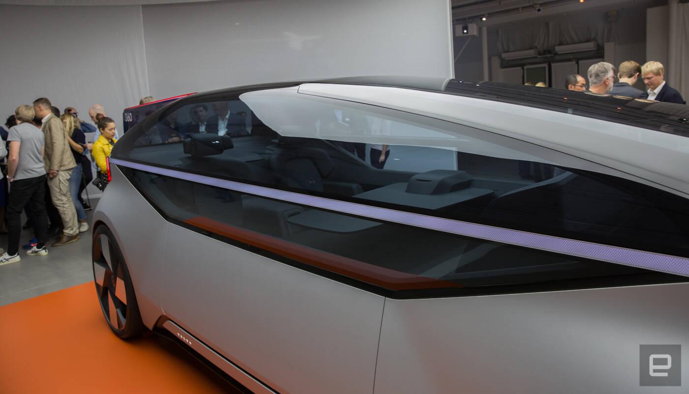 Volvo pokazało autonomiczny samochód przyszłości