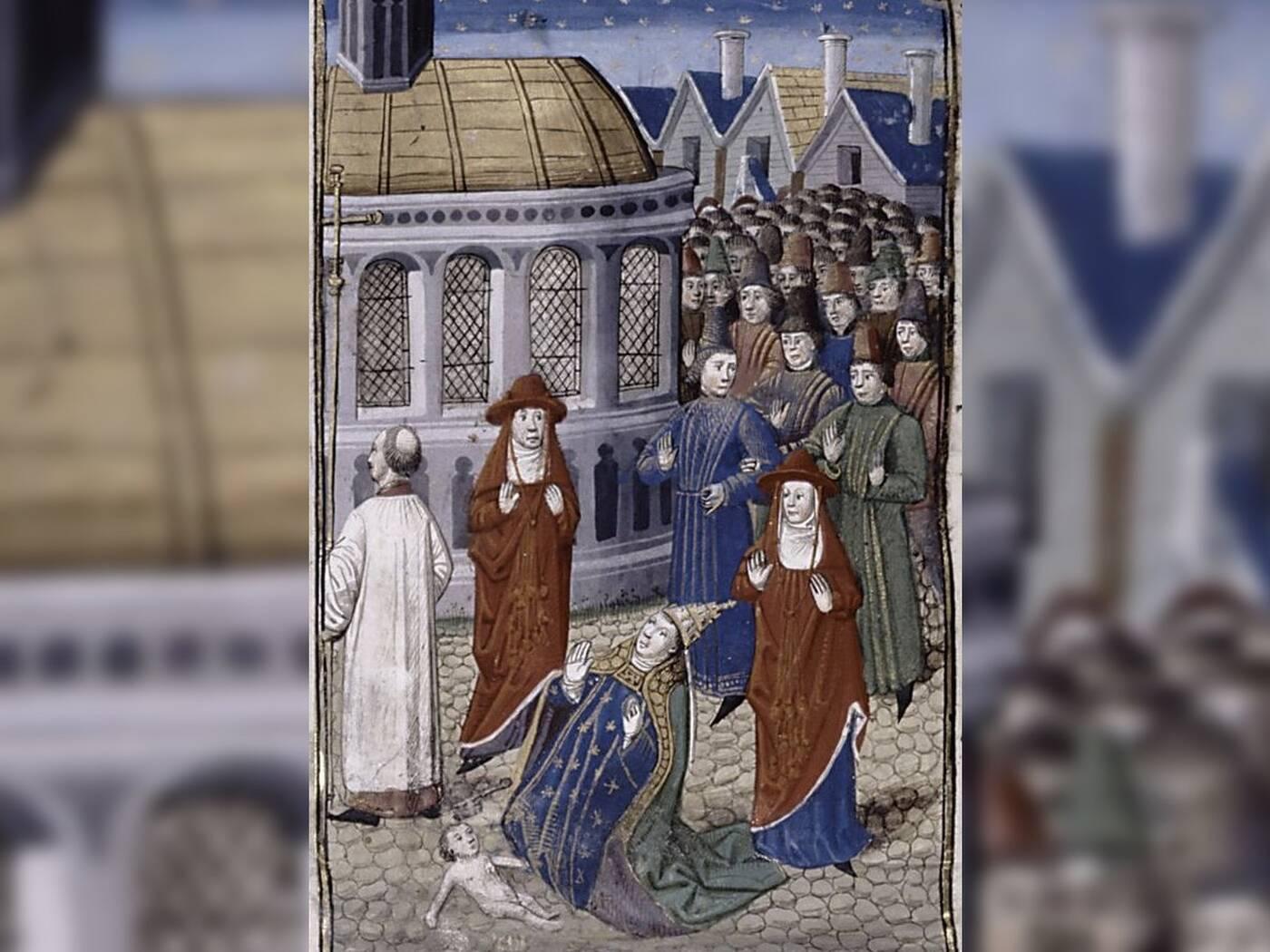 Papieżyca Joanna mogła faktycznie rządzić Kościołem
