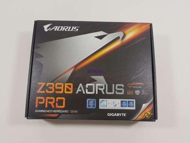 Test płyty głównej Aorus Z390 Pro