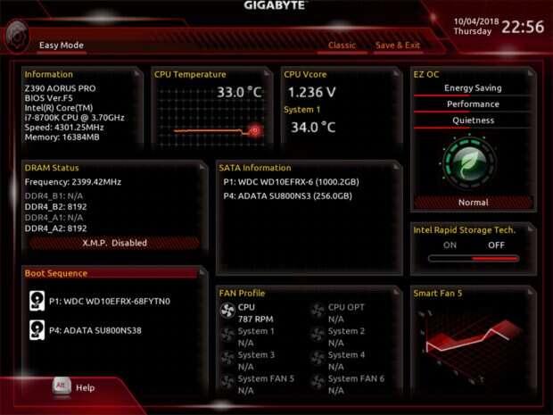 Aorus Z390 Pro BIOS