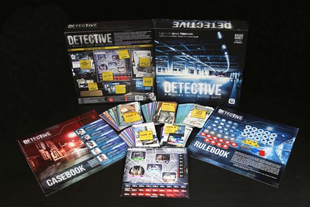 Recenzja gry Detektyw: Kryminalna Gra Planszowa