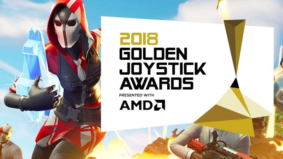 Wyniki gali Golden Joystick Awards 2018