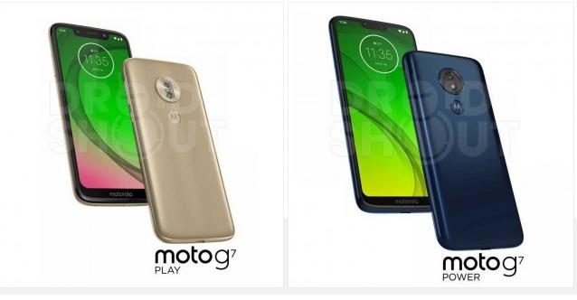 Tym razem w sieci pojawiły się render Moto G7 Power