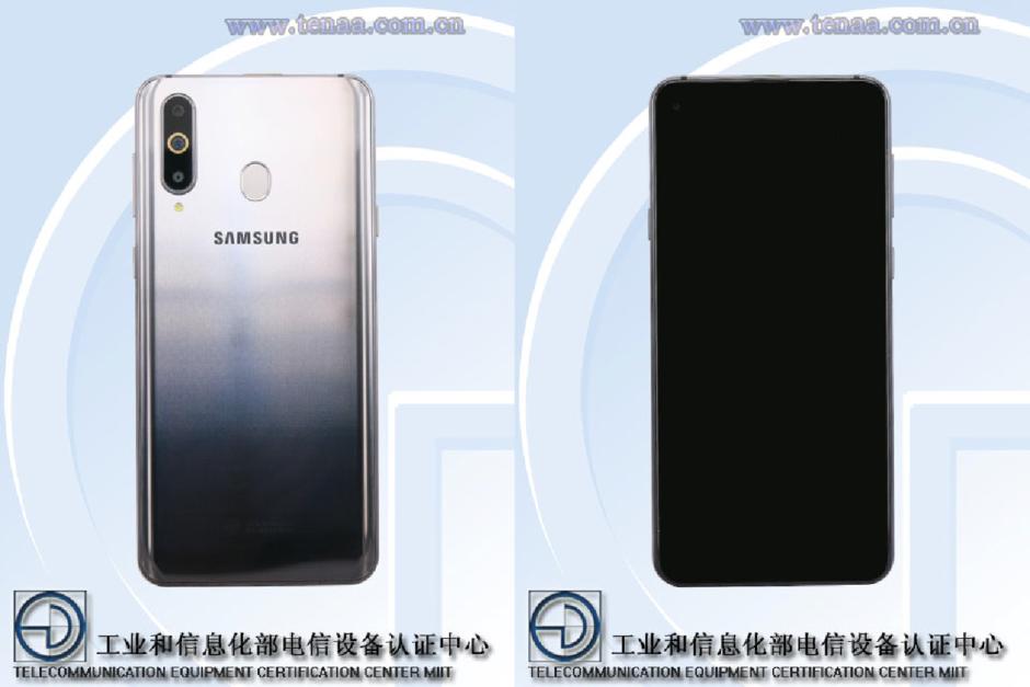 Samsung Galaxy A8s, Galaxy A8s, wygląd Galaxy A8s, render Galaxy A8s, zdjęcie Galaxy A8s