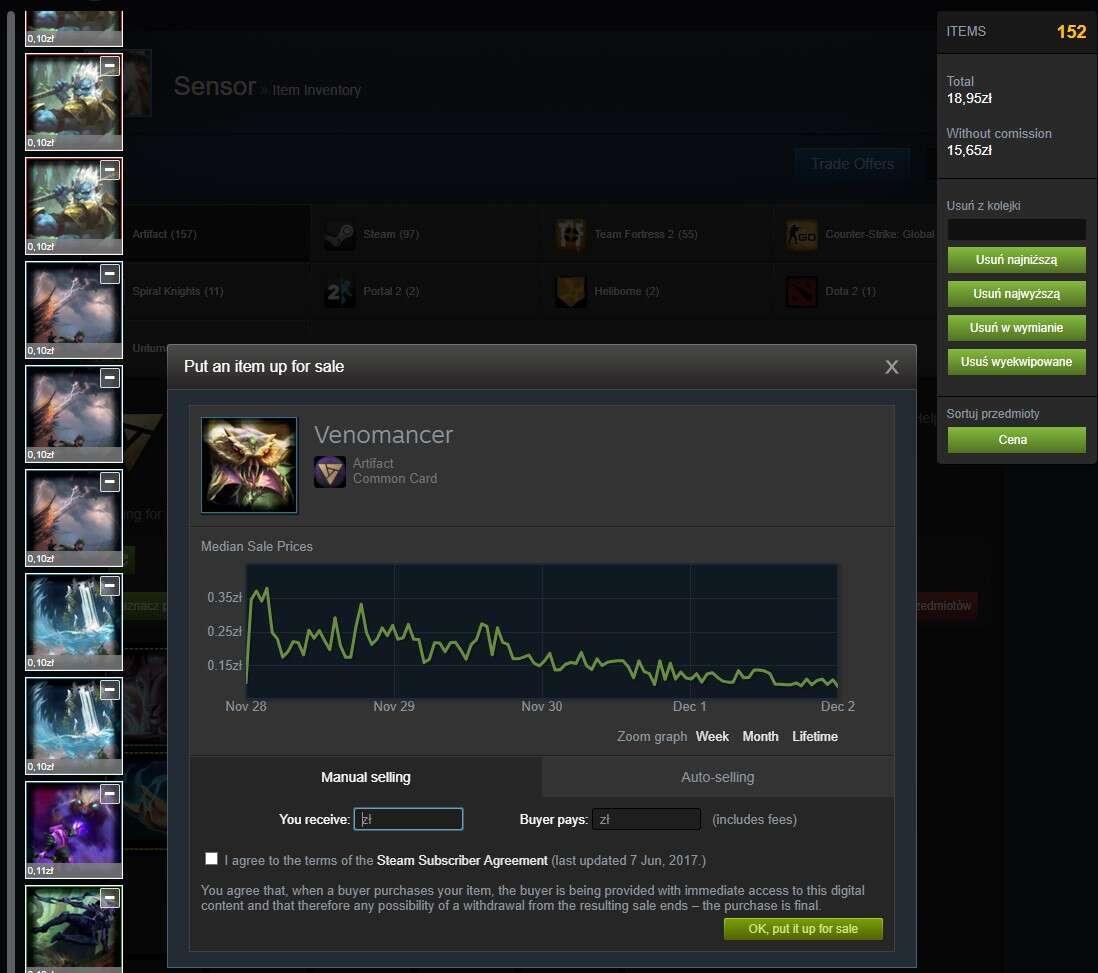 To najlepszy moment na zakup Artifact od Valve