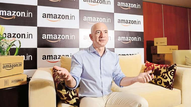 Amazon jest najlepiej notowaną firmą na giełdzie