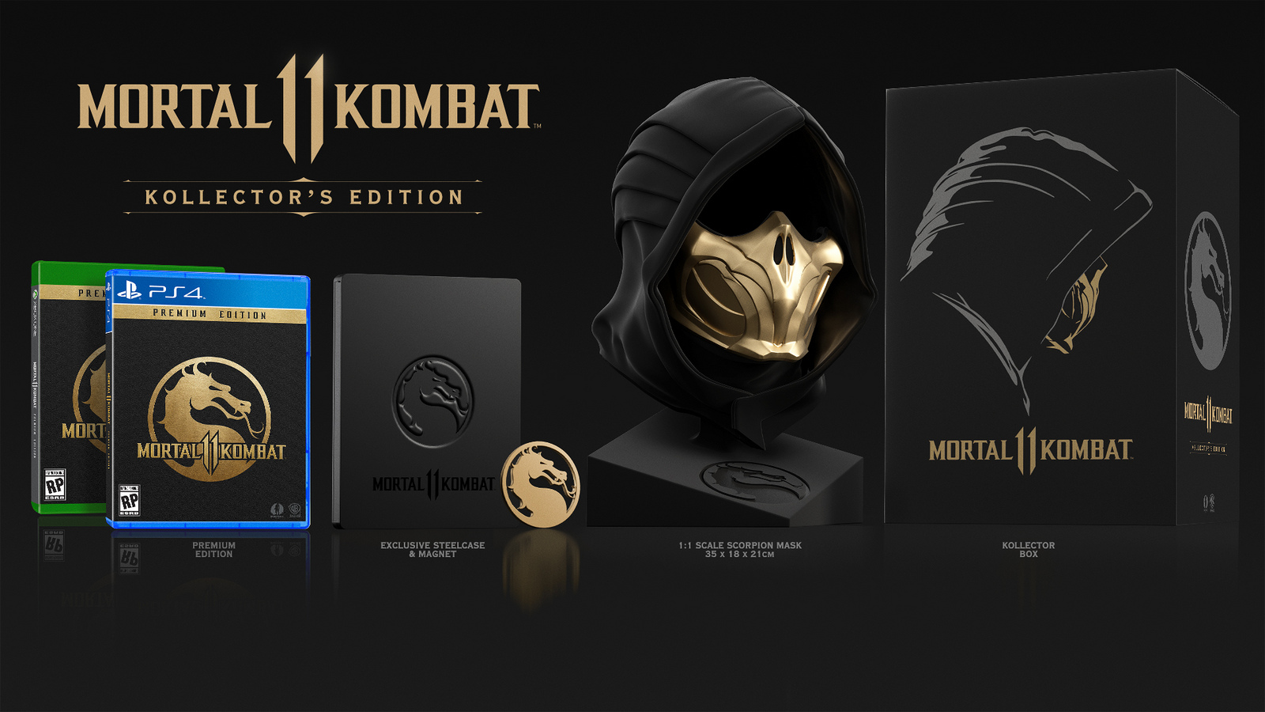 Mortal Kombat 11 Kollectors Edition wejdziecie w skórę Skorpiona