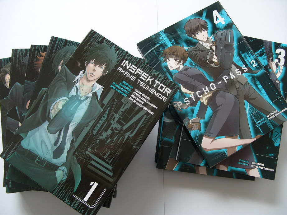 Recenzja komiksu Inspektor Akane Tsunemori & Psycho-Pass 2