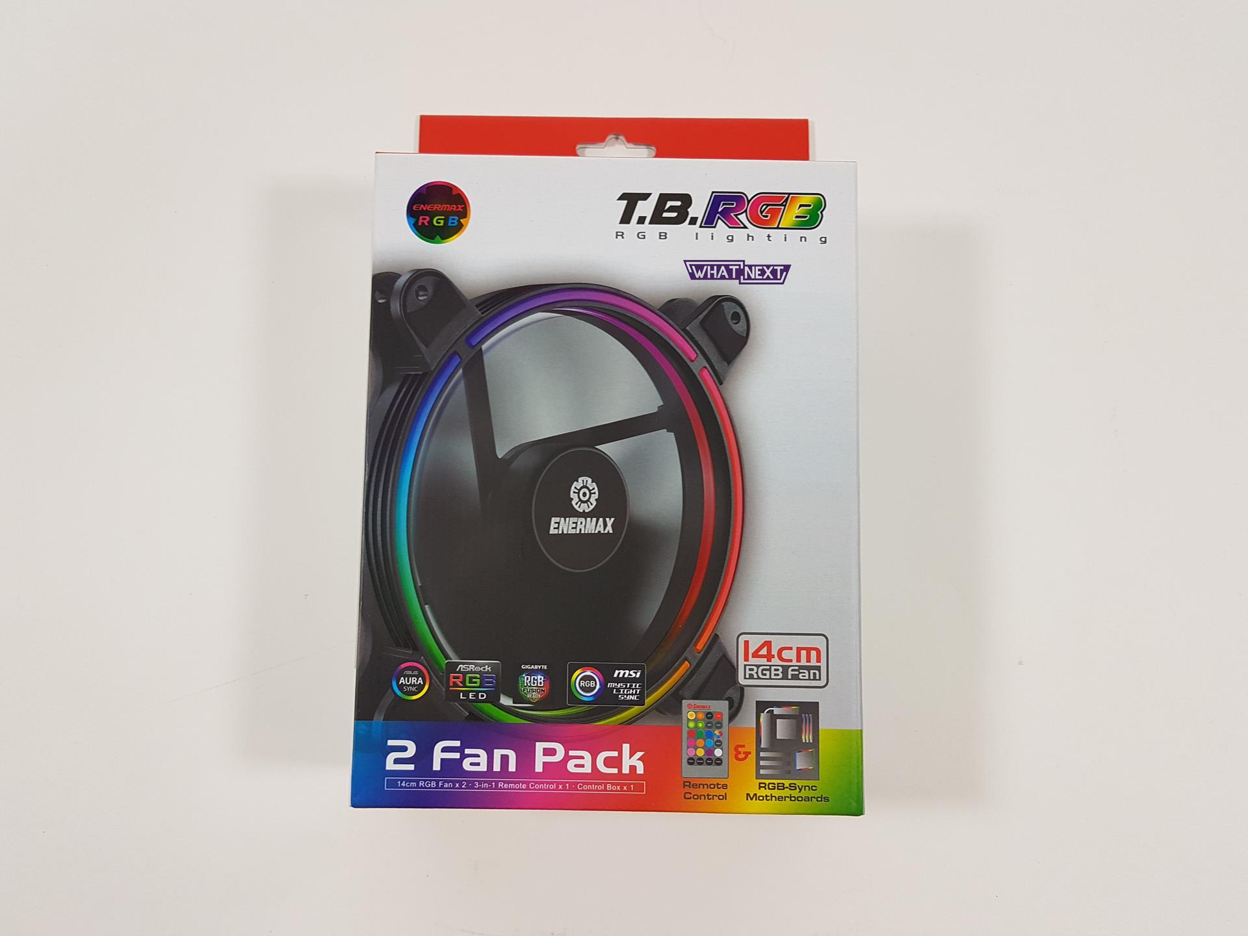 Test wentylatorów Enermax T.B.RGB 14 cm 2 Fan Pack