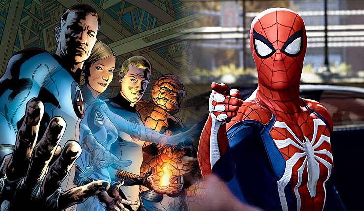 Fantastyczna Czwórka w Spider-Man od Insomniac Games?