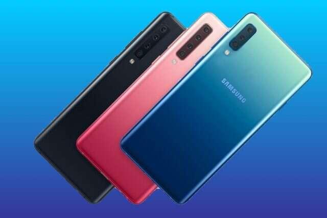 Dokładny render Samsunga Galaxy A50