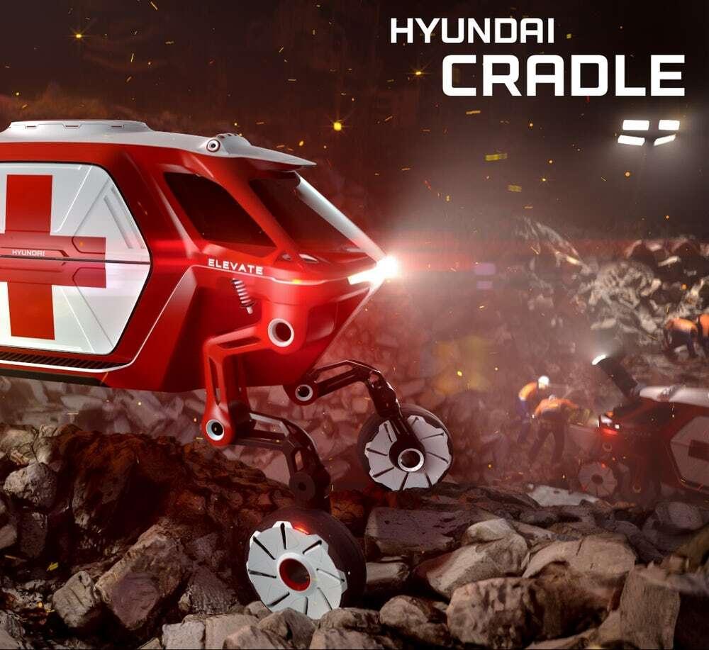 Hyundai ma zaprezentować czteronożny pojazd Elevate na CES 2019