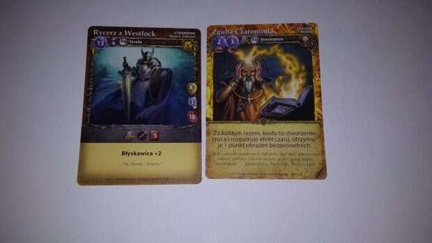 Mage Wars: Arena karty