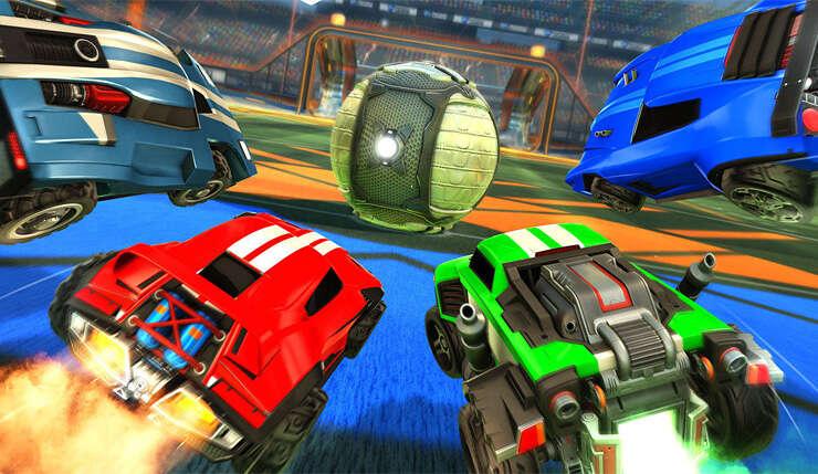 Crossplay Rocket League na PlayStation 4 już dostępny