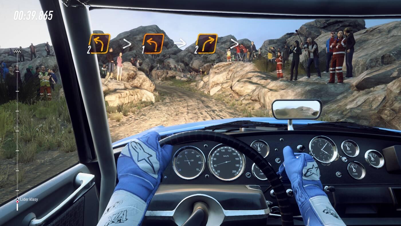 DiRT Rally 2.0 kokpit