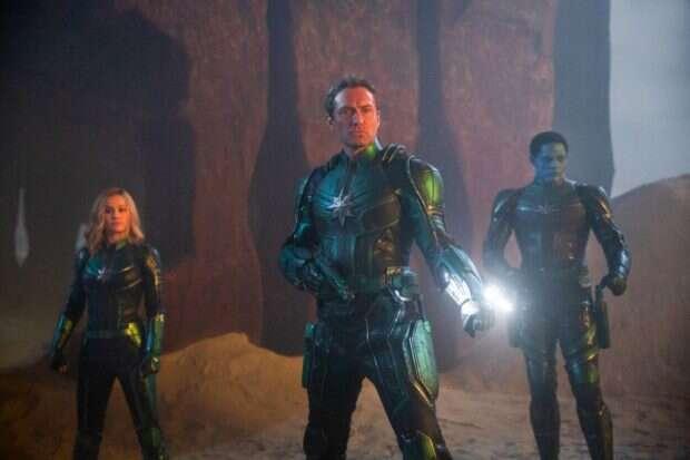 Kapitan Marvel na oficjalnych zdjęciach