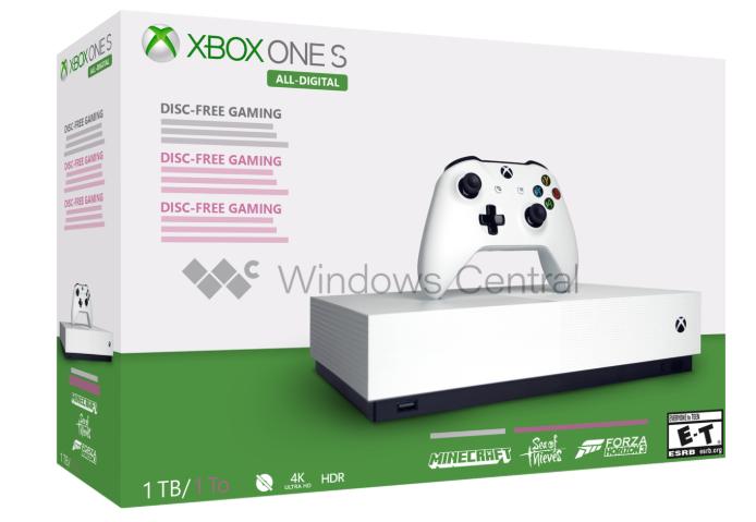 Oto Xbox One S All-Digital – jak będzie wyglądała nowa konsola od Microsoftu?