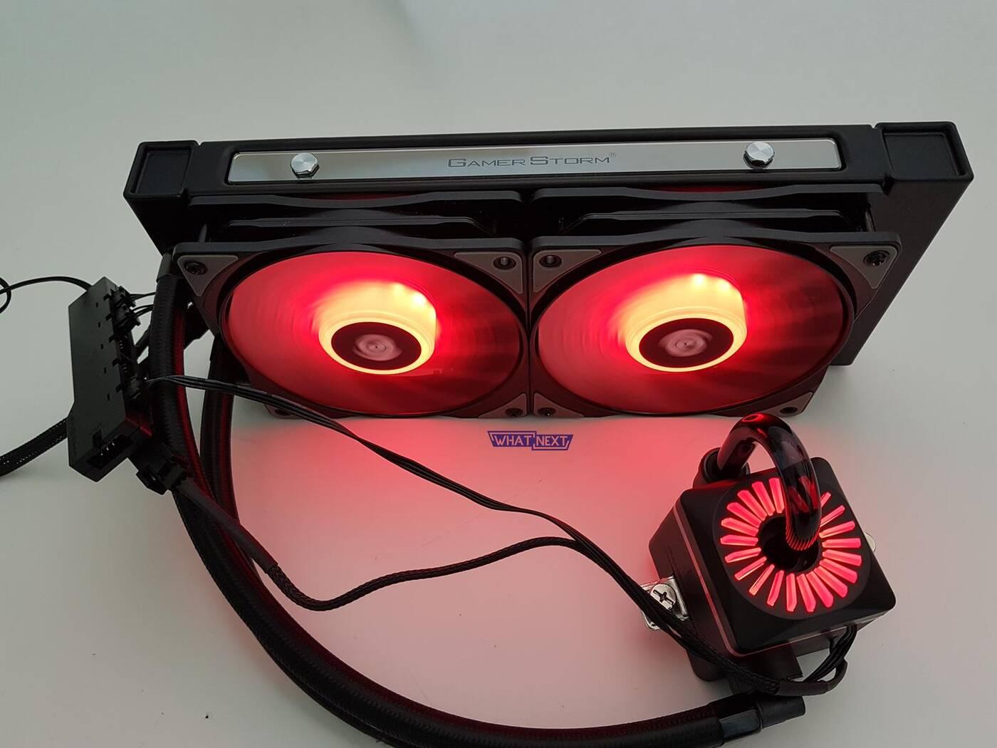 Test chłodzenia Deepcool Captain 240 Pro