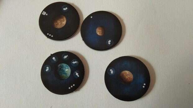 Cosmogenesis planety
