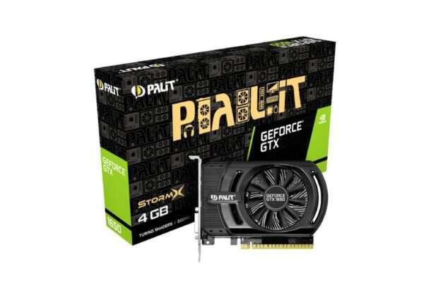 Cena GeForce GTX 1650 z mniej niż 600 zł