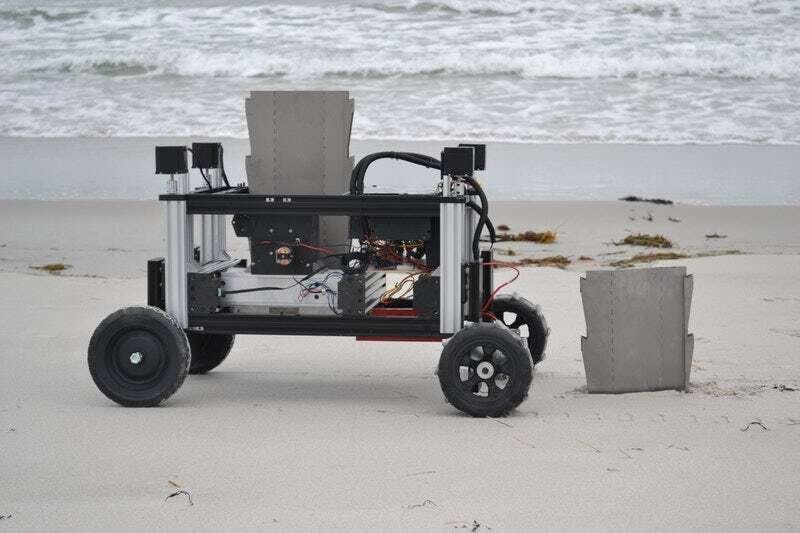 Poznajcie ROMU – robota chroniącego środowisko przed erozją