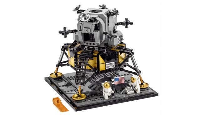 Zestaw Apollo 11 LEGO na 50. rocznicę lądowania na księżycu