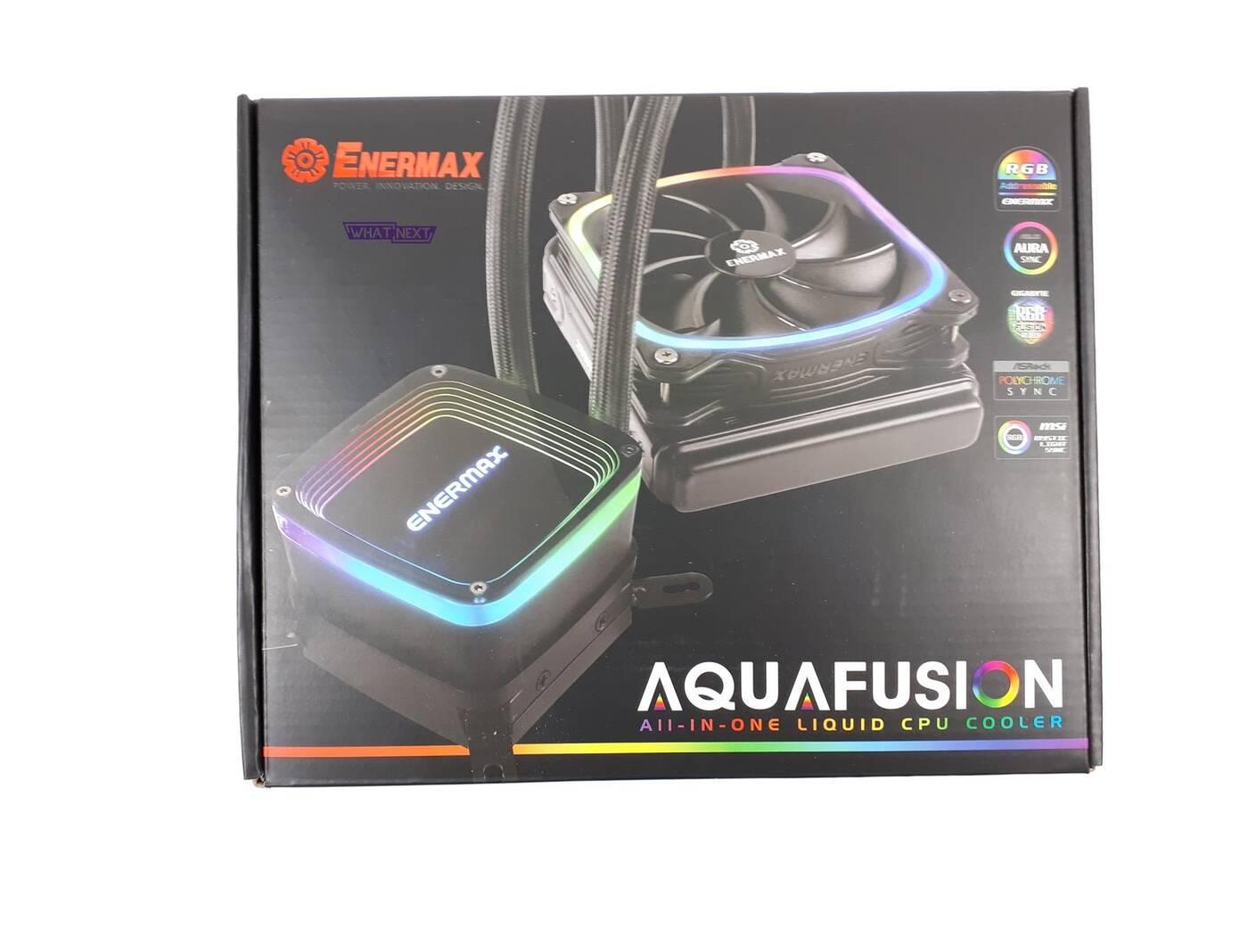 Test chłodzenia Enermax Aquafusion 120
