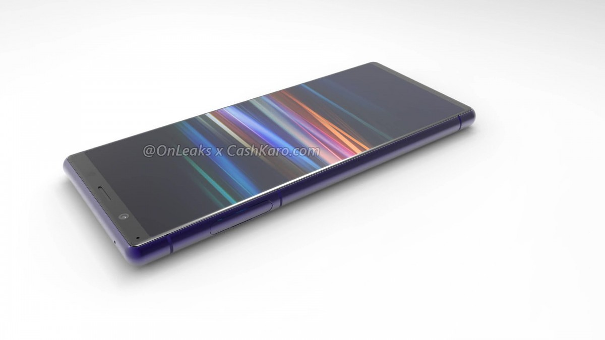 Wyciekły rendery Sony Xperia 2