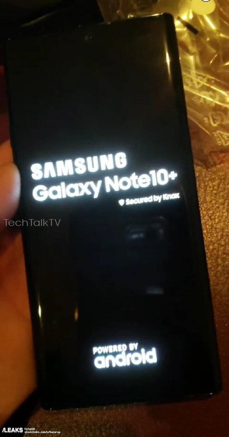 Galaxy Note 10+, wygląd Galaxy Note 10+, design Galaxy Note 10+, fotki Galaxy Note 10+, zdjęcie Galaxy Note 10+, render Galaxy Note 10+