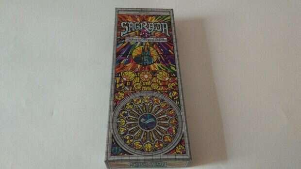 Sagrada: Jeszcze Więcej Szkła pudło