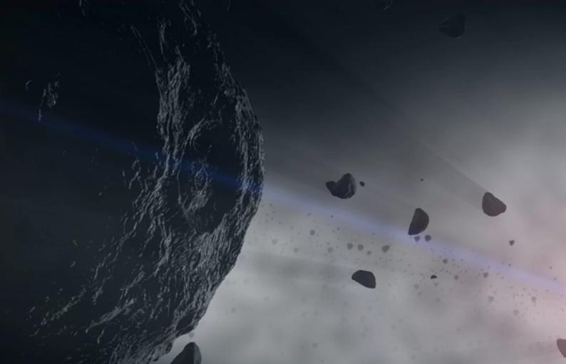 Meteoryty zawierające cyjanki mogły doprowadzić do powstania życia na Ziemi