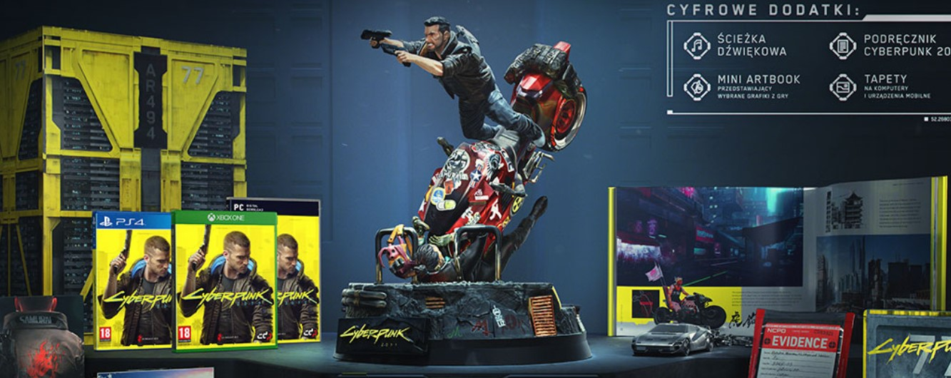 Darmowa kolekcjonerka Cyberpunk 2077 dla krzykacza z E3