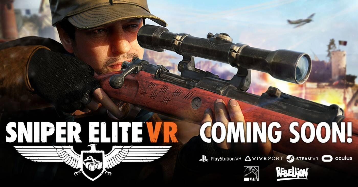 Teaser Sniper Elite VR pokazuje jak przerobiono serię na potrzeby wirtualnej rzeczywistości