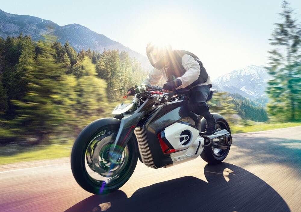 Szalony elektryczny motocykl BMW może powstać!