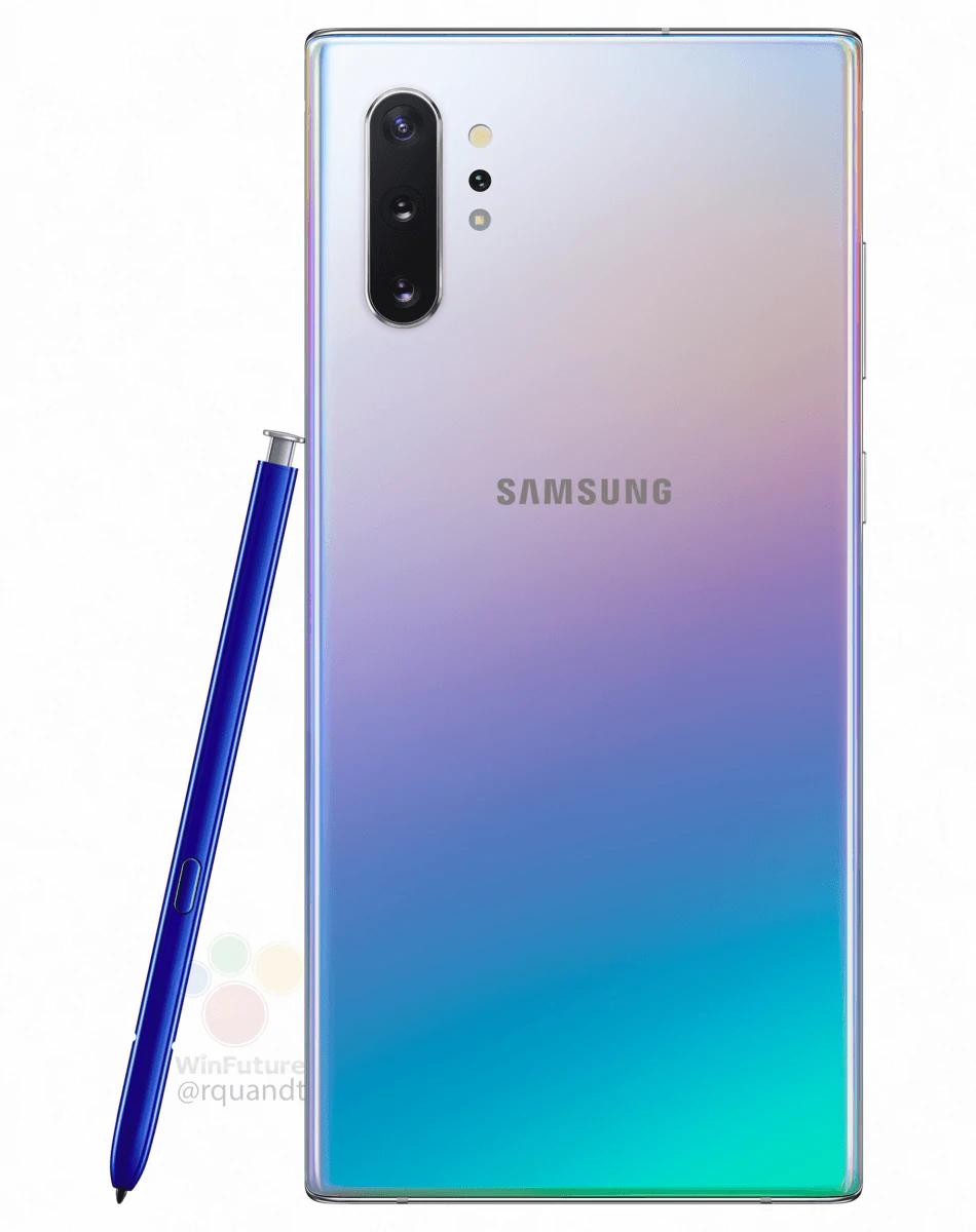 Galaxy Note 10, aparaty Galaxy Note 10, obiektywy Galaxy Note 10, apertura Galaxy Note 10, ISO Galaxy Note 10