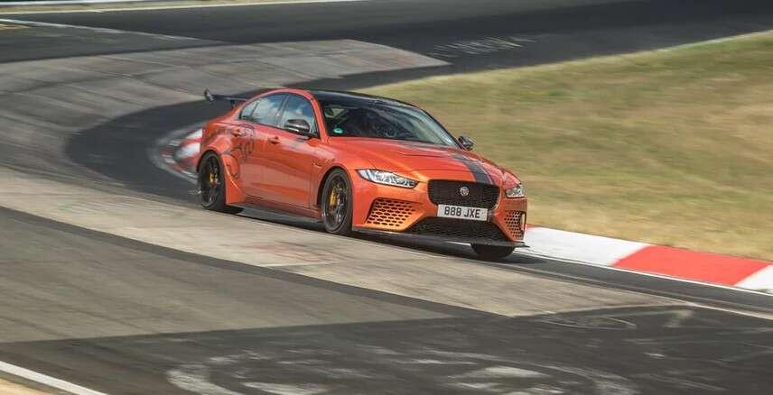 Jaguar XE SV Project 8 pobił samego siebie na Nurburgring