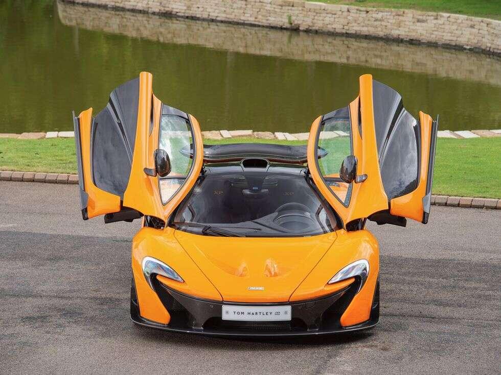 Jeden z czternastu McLaren P1 XP05 trafił na sprzedaż